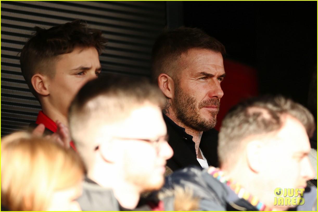 david beckham attends salford city game 22
