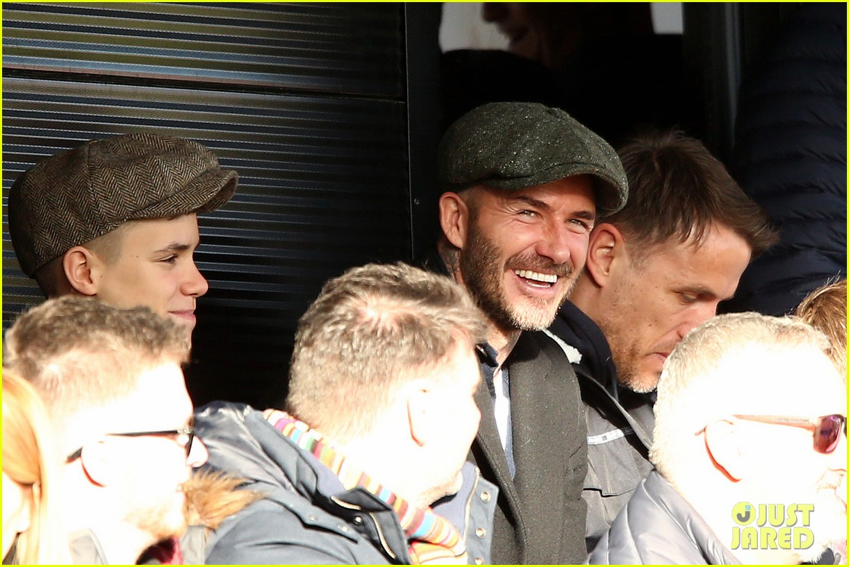 david beckham attends salford city game 23