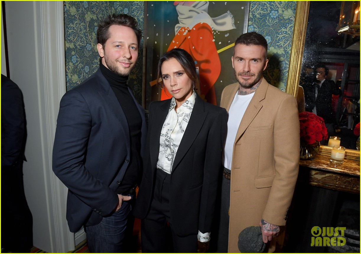 victoria beckham supported by david launch youtube channel 09