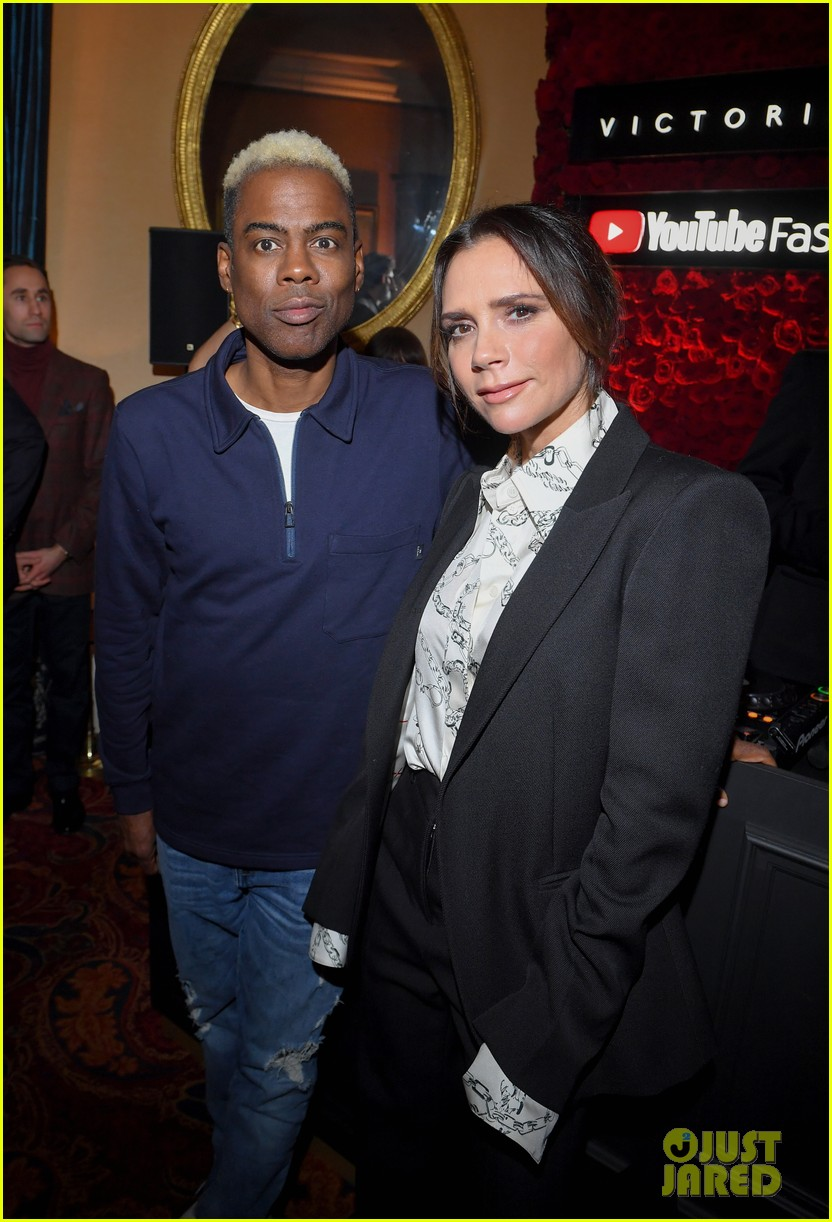 victoria beckham supported by david launch youtube channel 10