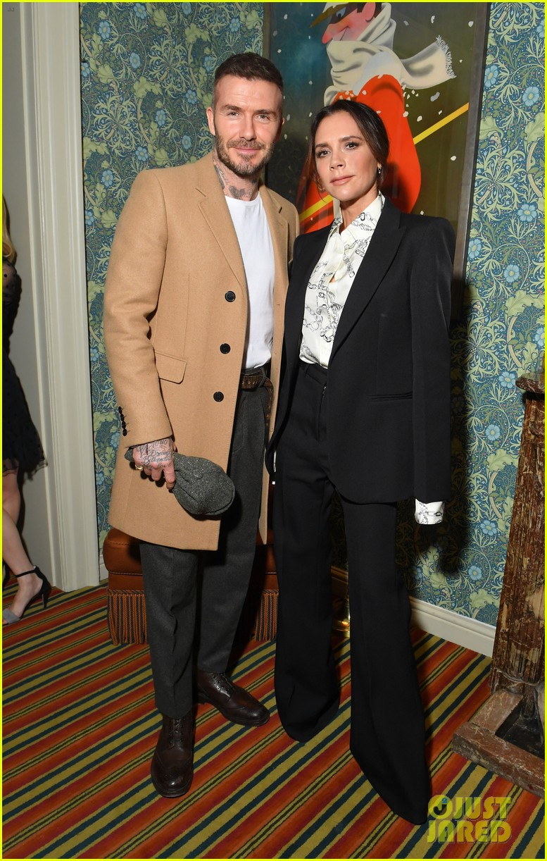 victoria beckham supported by david launch youtube channel 11