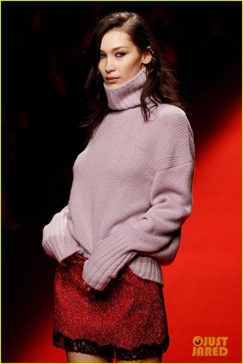 bella hadid philosophy milan fashion week 01