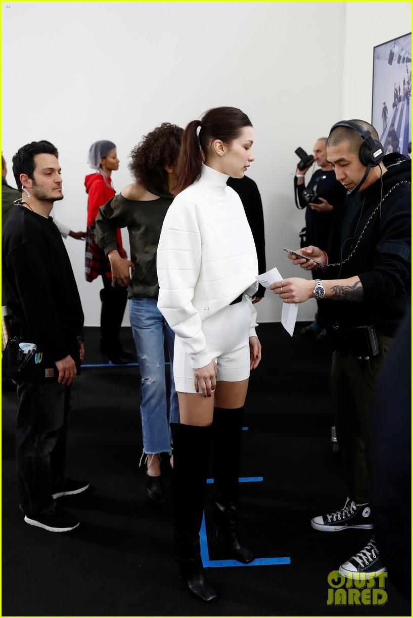 bella hadid philosophy milan fashion week 08