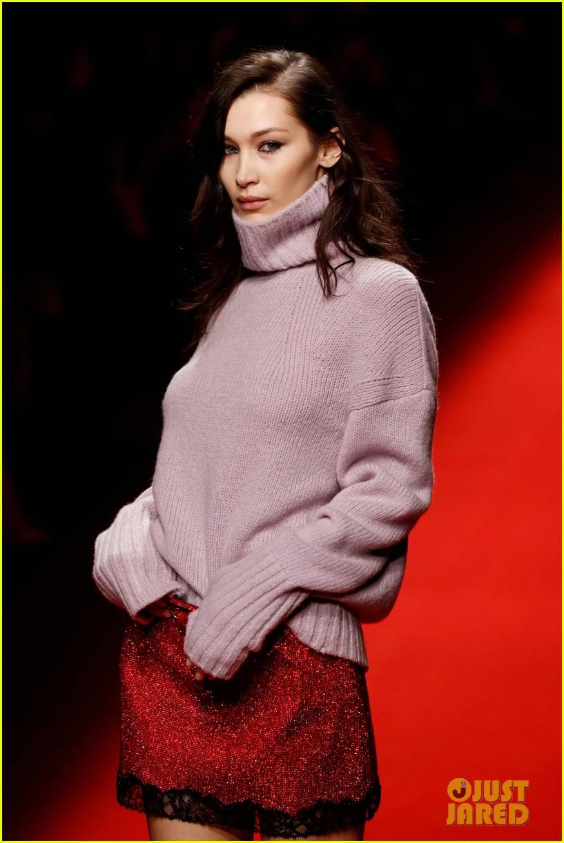 bella hadid philosophy milan fashion week 14