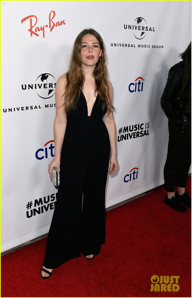 sabrina carpenter glows in yellow at universal music groups grammys 2019 after party 054237052