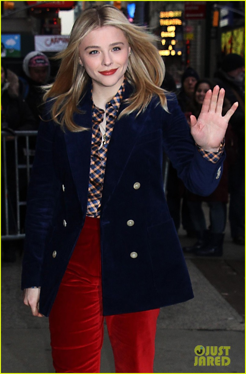 chloe moretz good morning america appearance 044241639