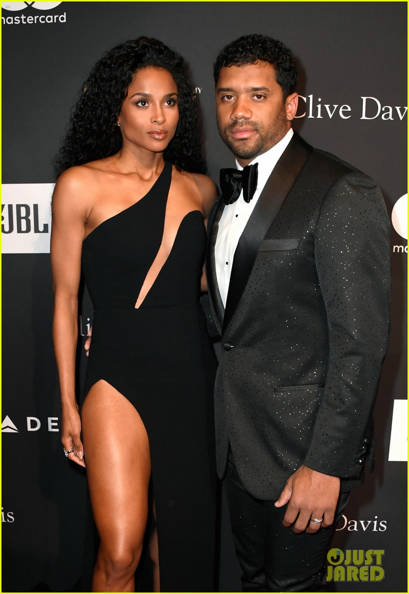 ciara russell wilson couple up for clive davis pre grammys party 044227517