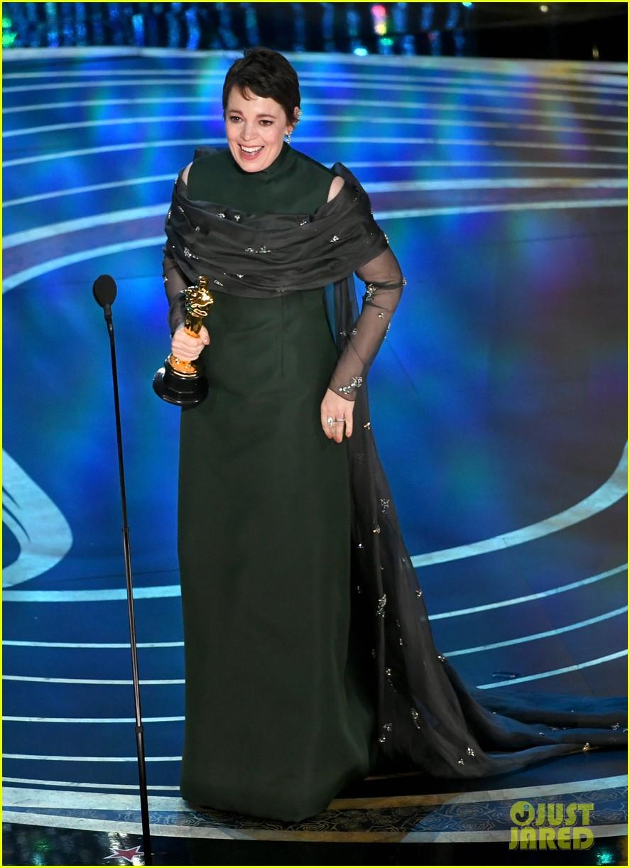 Olivia Colman Wins Best Actress At Oscars 2019 Photo