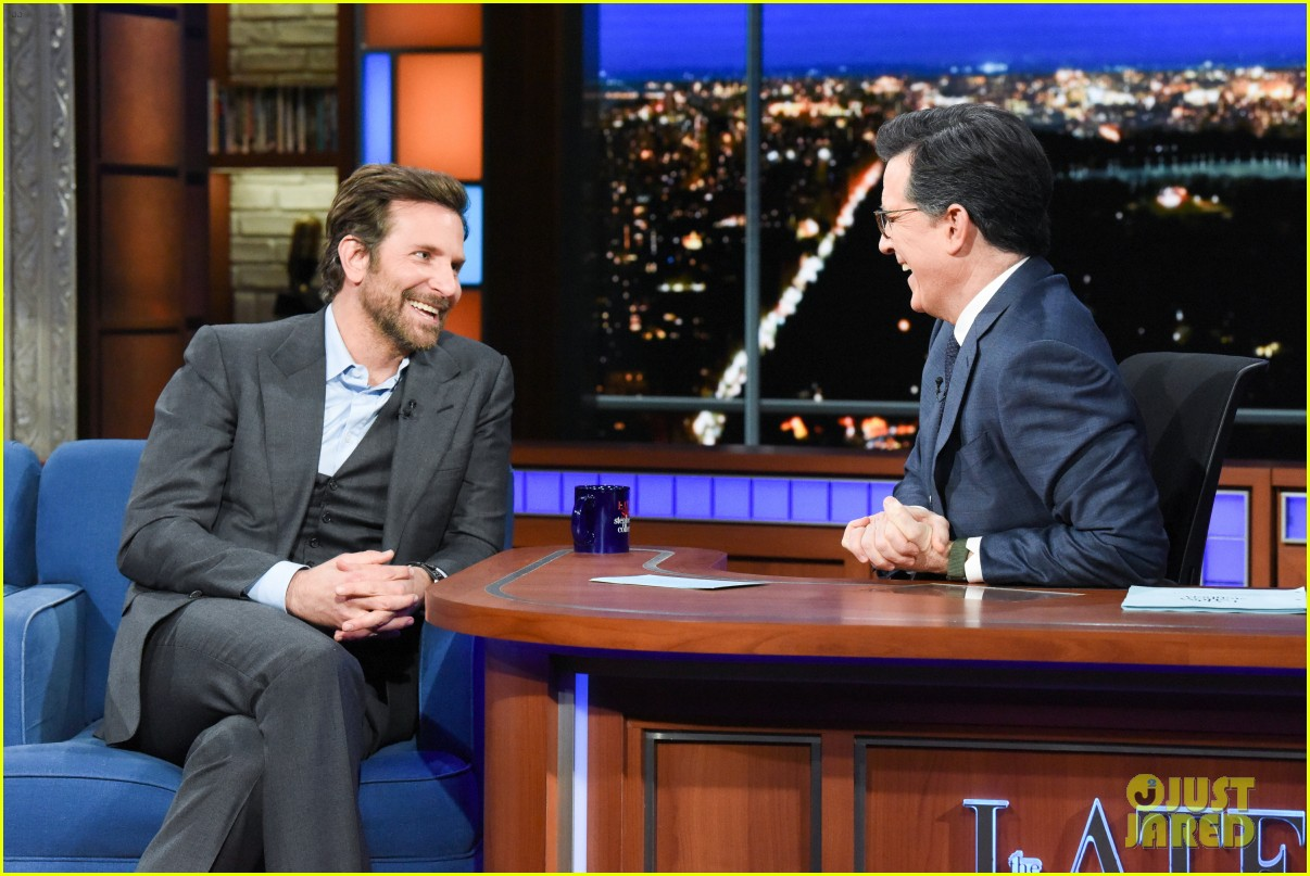 bradley cooper shows off the vocal exercise he did to become star is borns jackson maine 02