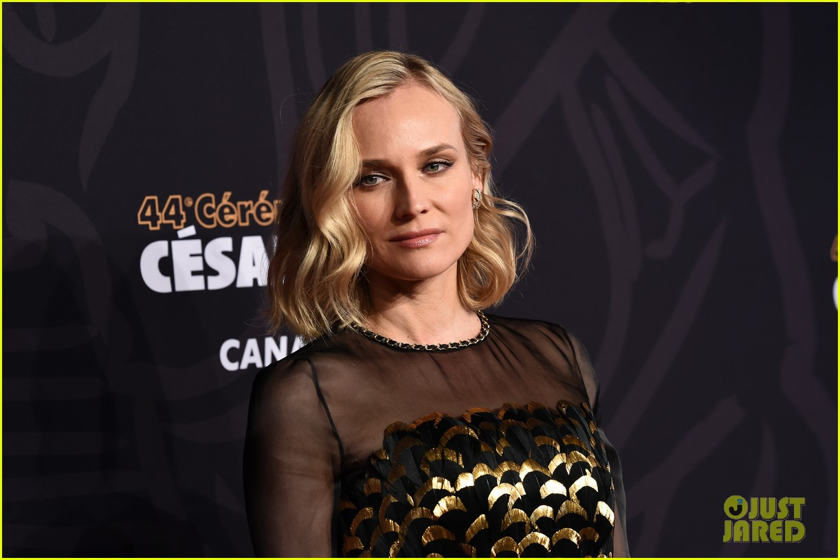 diane kruger honors karl lagerfeld at cesar awards 02
