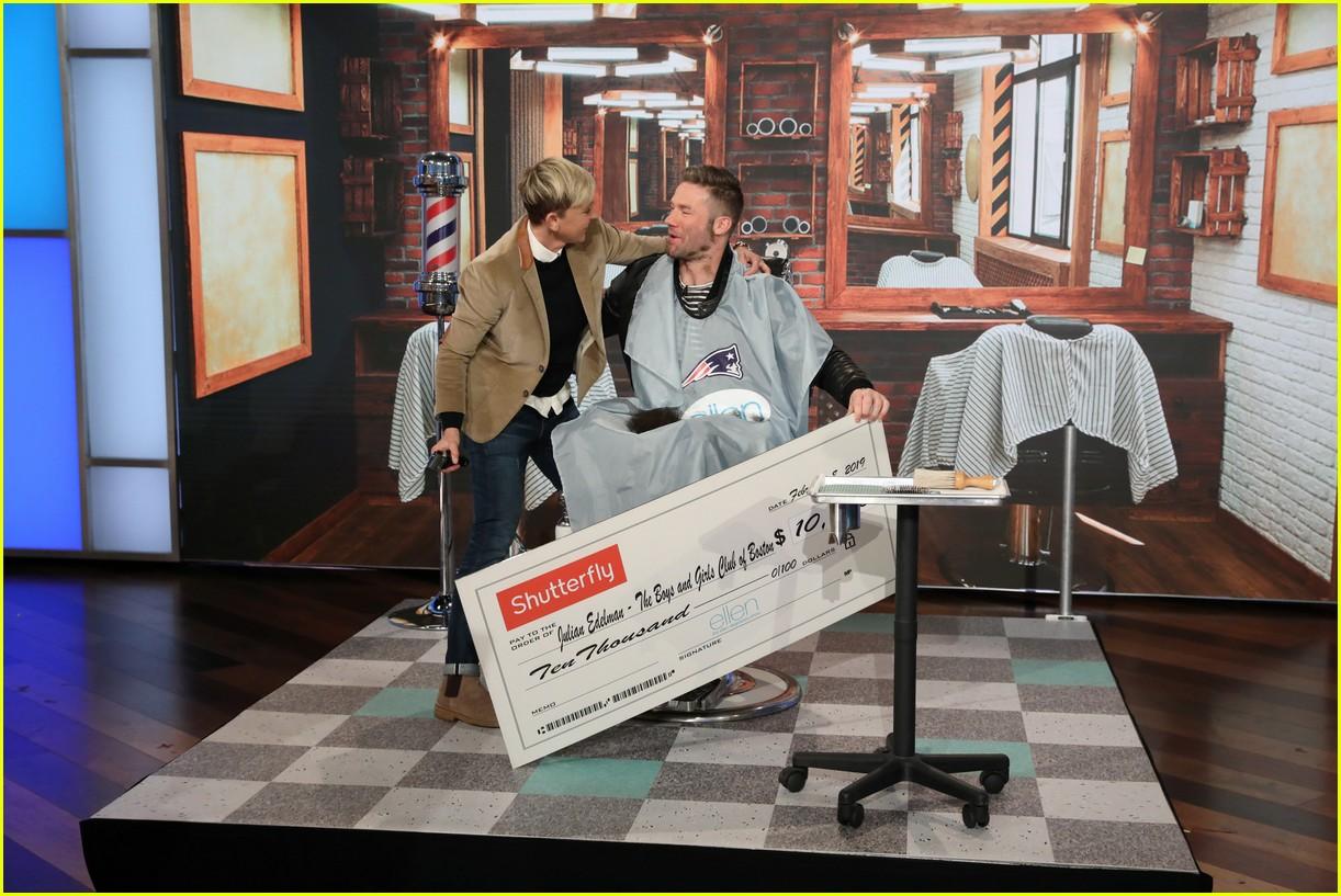 Patriots Julian Edelman Shaves Off His Beard With Ellen S
