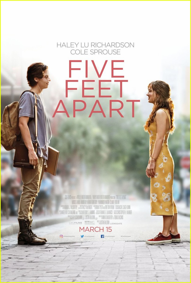 five feet apart new trailer poster 01
