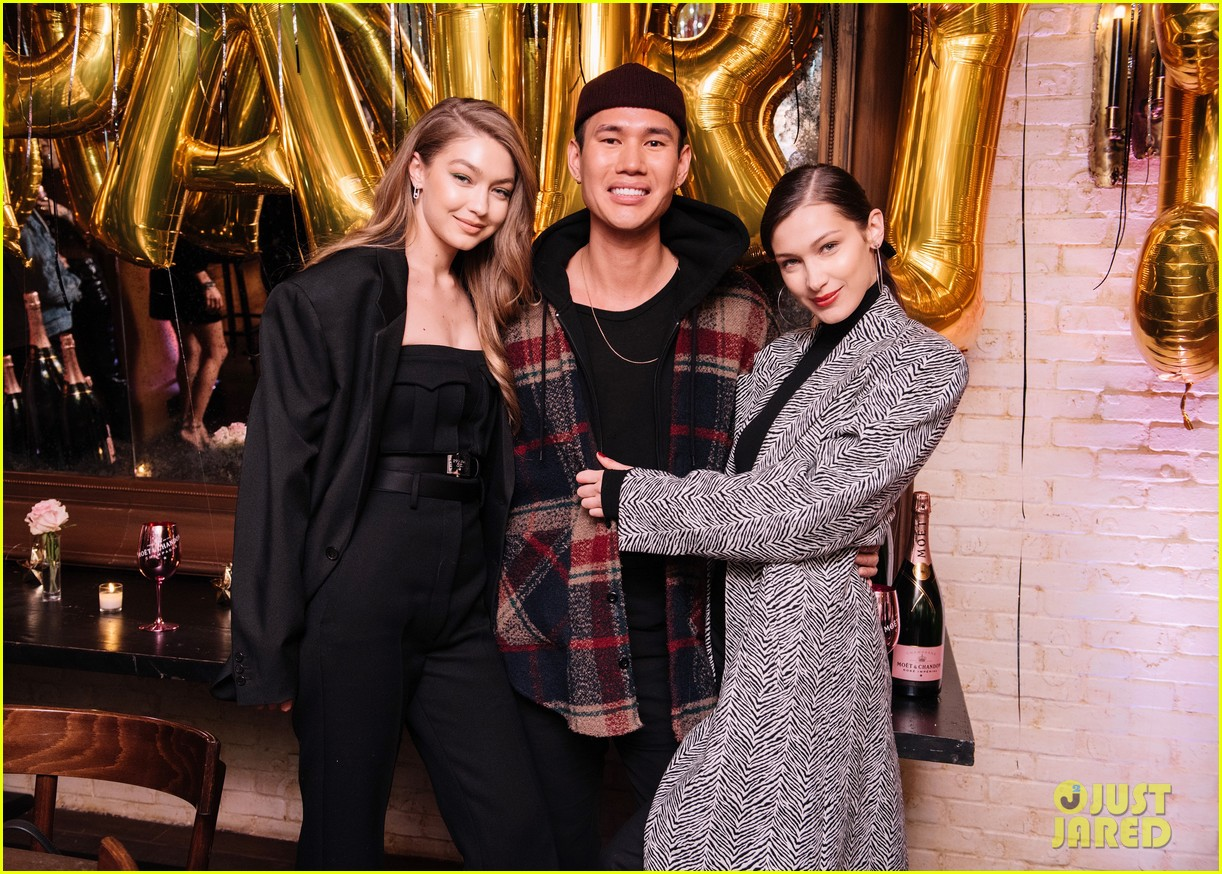 gigi bella hadid celebrate friends birthday nyc 05