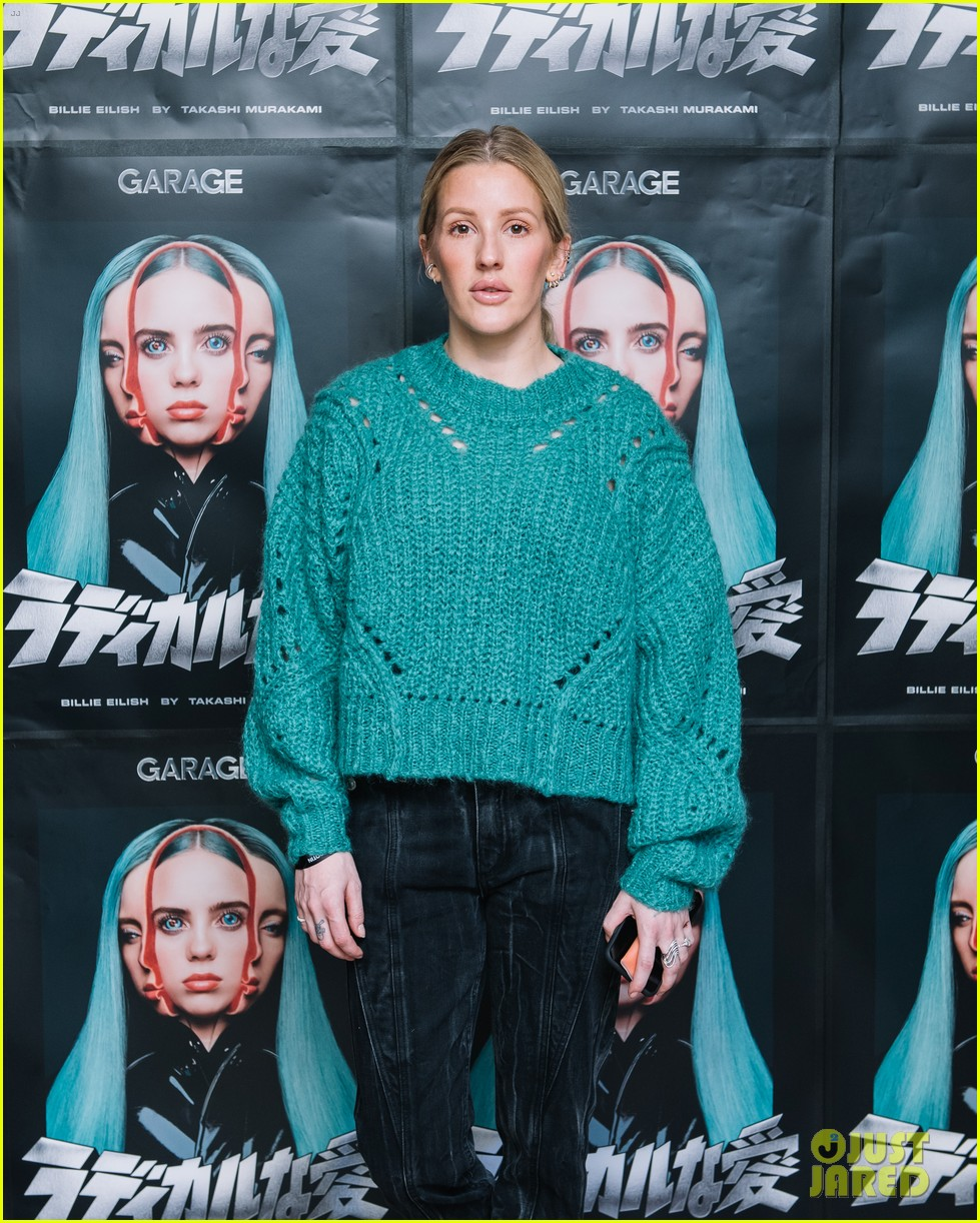 ellie goulding helps garage mag celebrate billie eilish takashi murakami collab 014225121