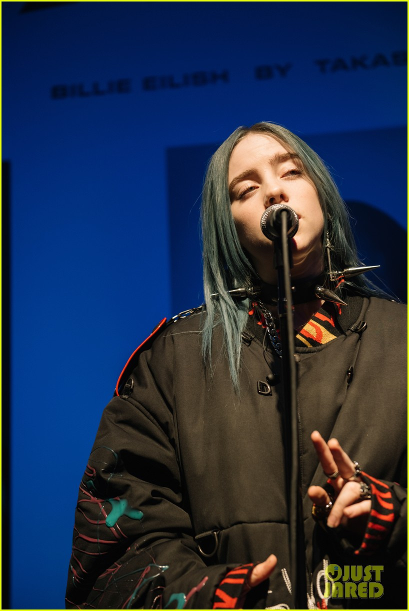 ellie goulding helps garage mag celebrate billie eilish takashi murakami collab 284225148