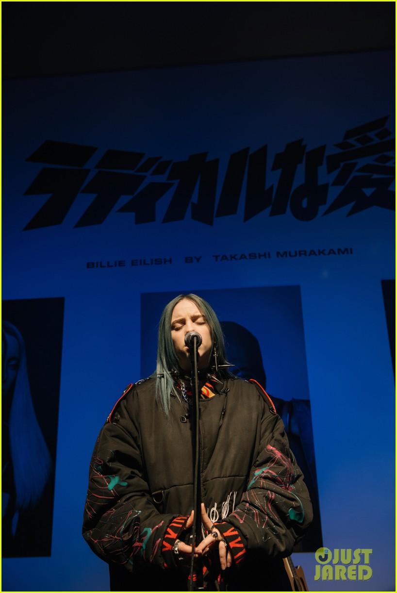 ellie goulding helps garage mag celebrate billie eilish takashi murakami collab 294225149