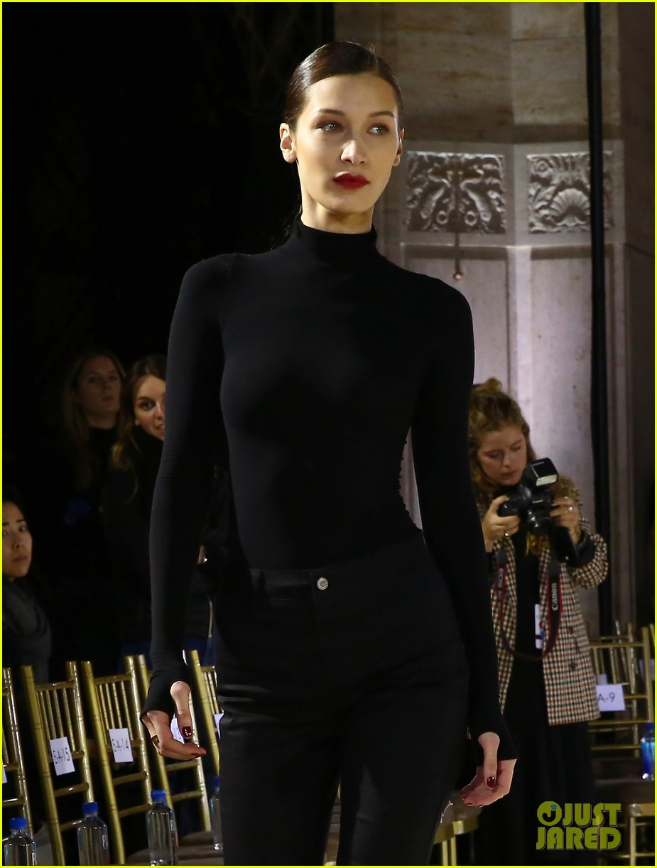 bella hadid stuns at the oscar de la renta fashion show 07