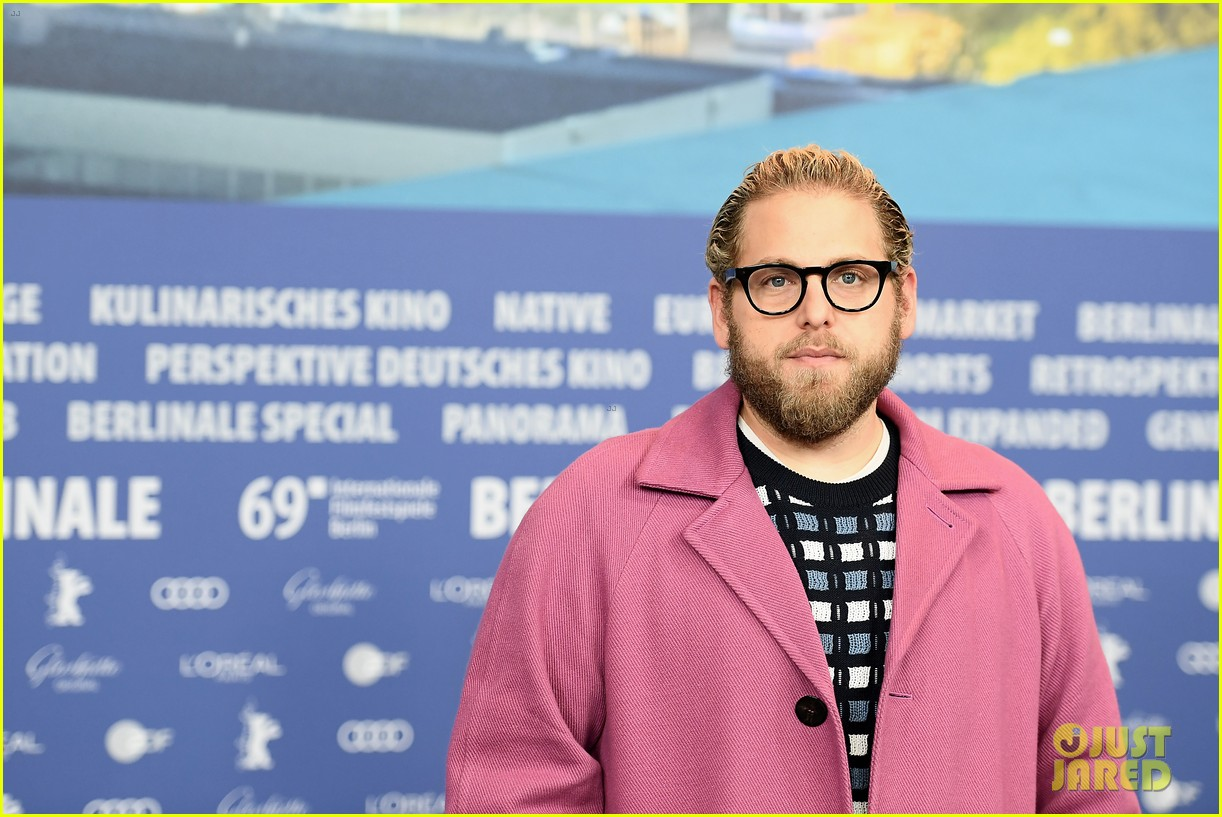 jonah hill promotes his movie mid90s at berlin film festival 13