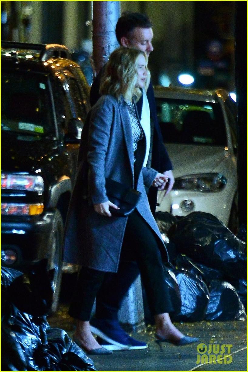 Jennifer Lawrence & Fiance Cooke Maroney Step Out After ...