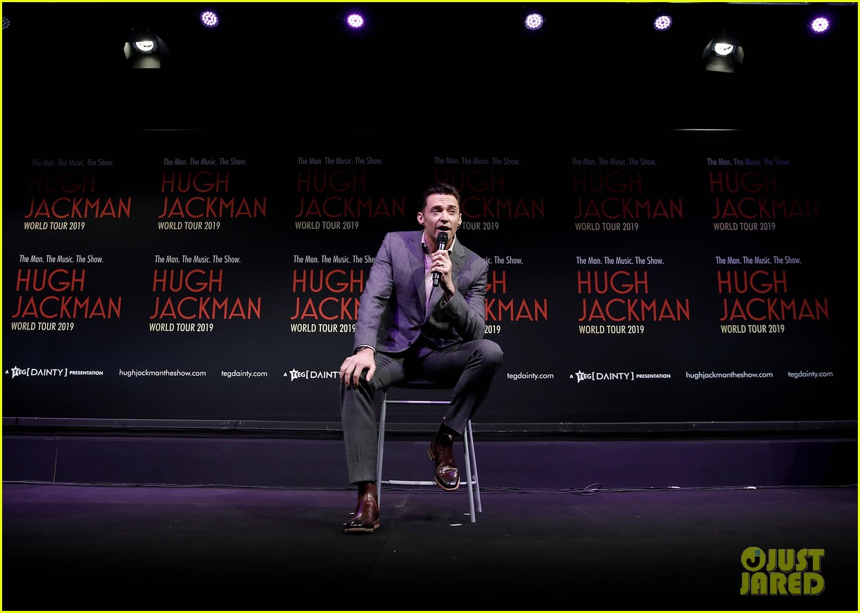 hugh jackman announces australian leg of world tour 124248454