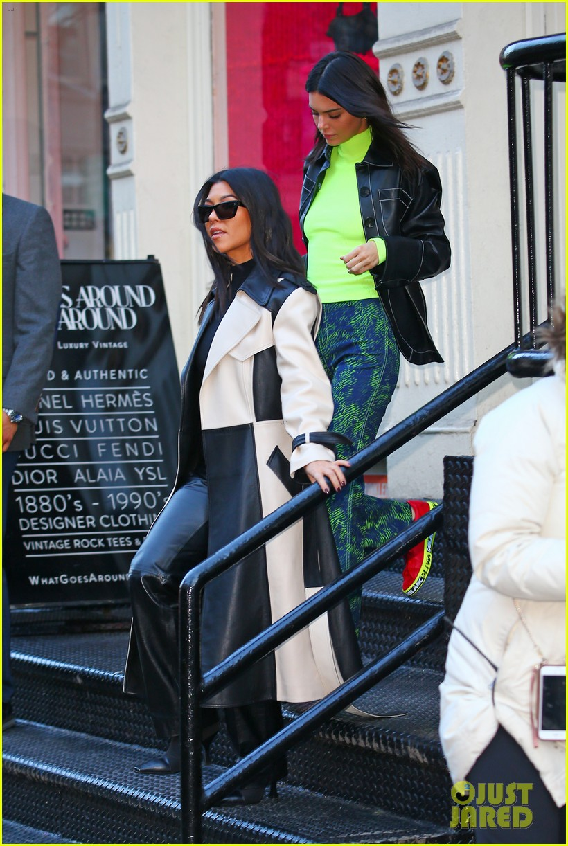 kendall jenner hangs with ben simmons and kourtney kardashian in nyc 05