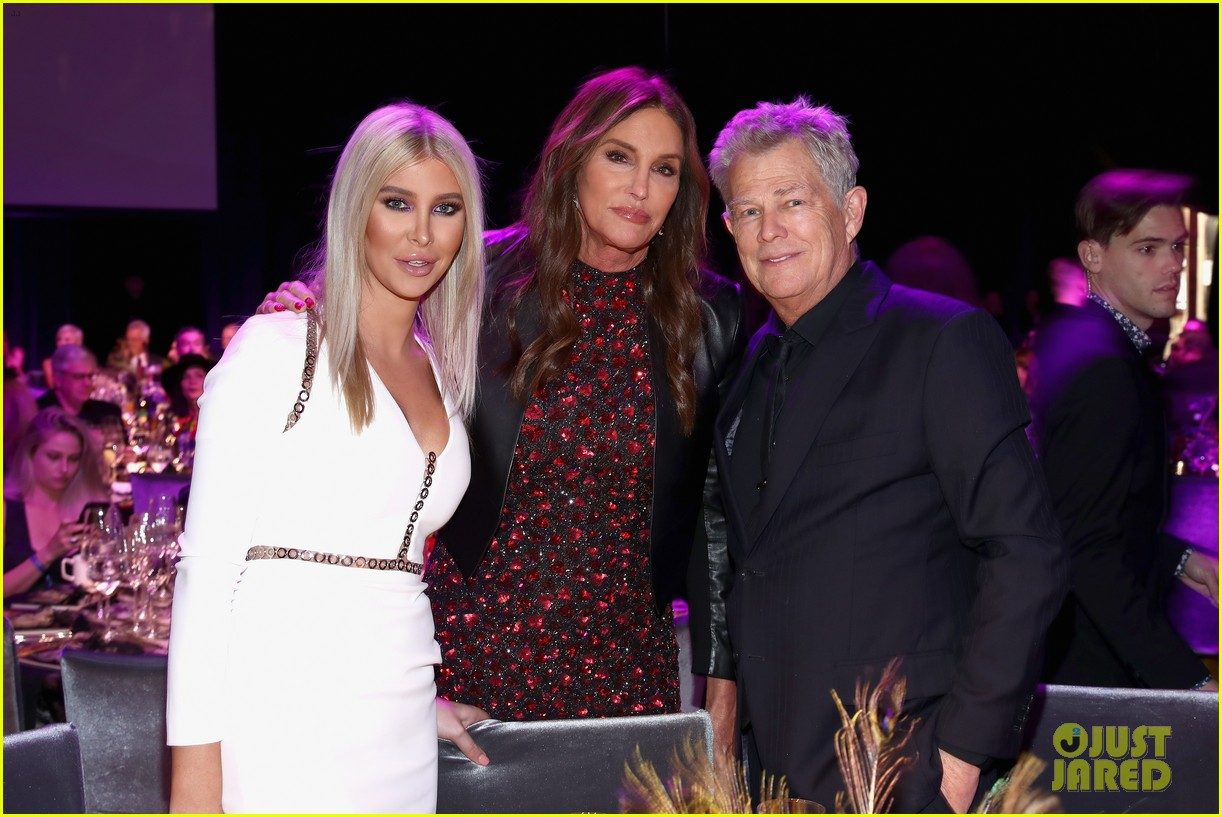 caitlyn jenner joined by sophia hutchins at steven tyler grammy viewing party 01