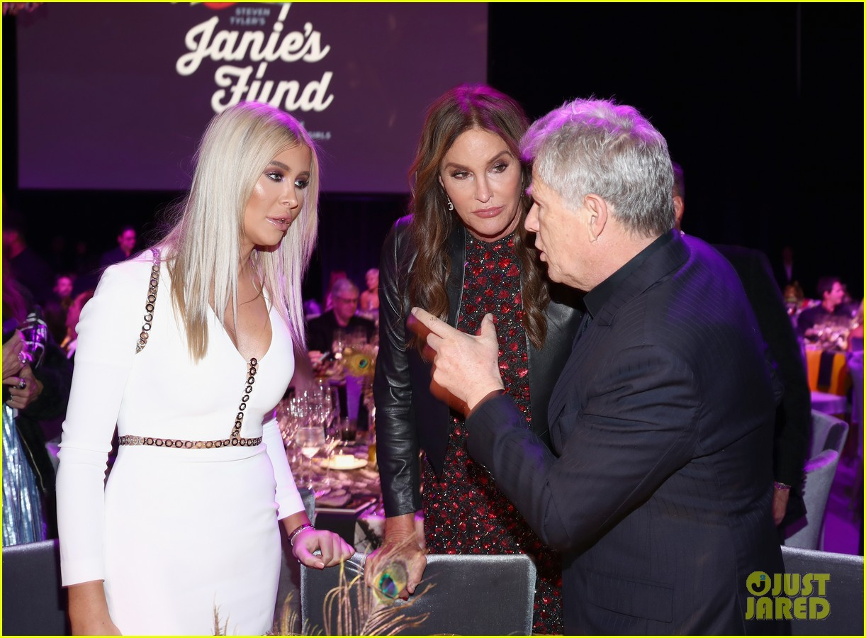 caitlyn jenner joined by sophia hutchins at steven tyler grammy viewing party 08