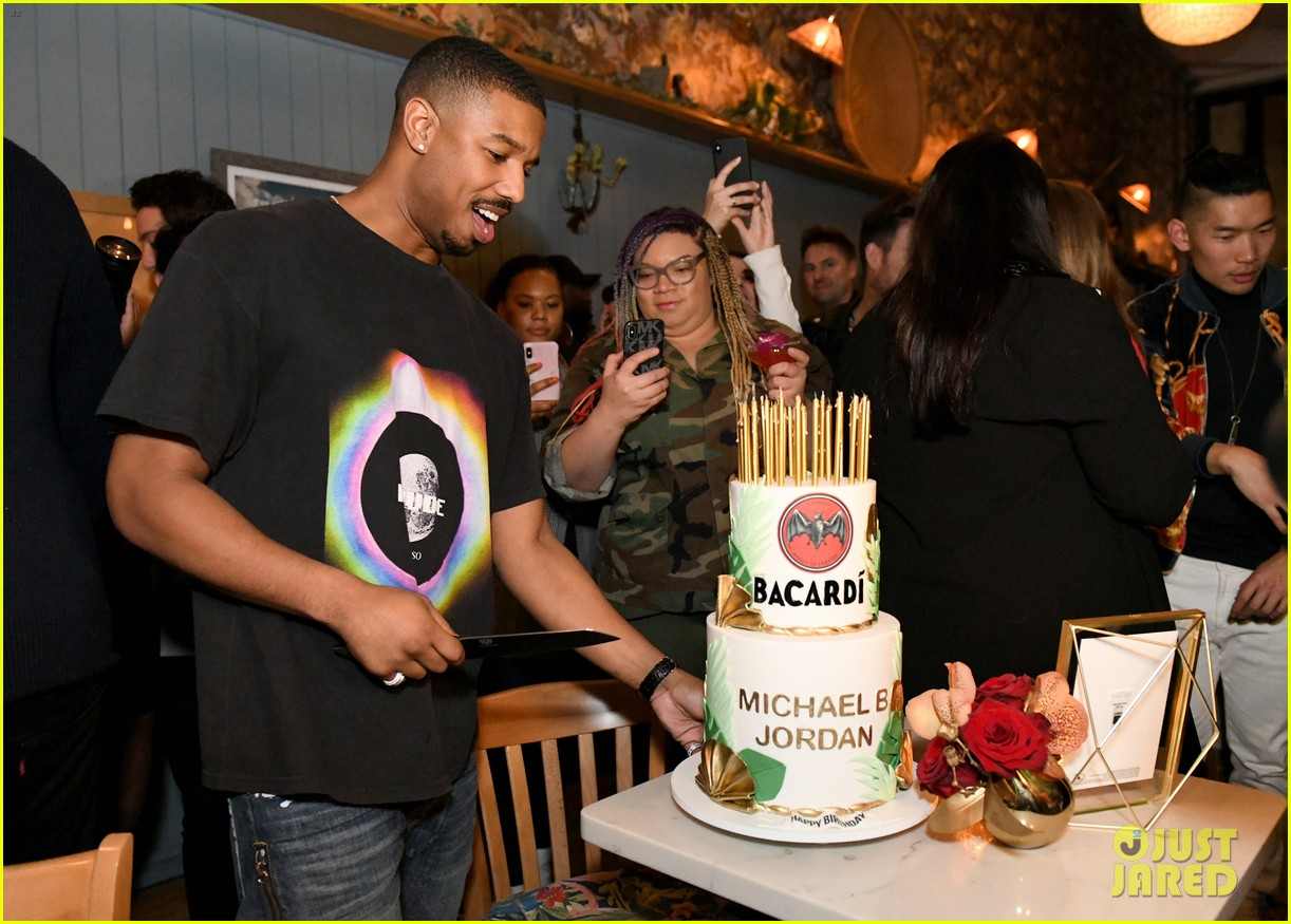 michael b jordan mixed up drinks with bacardi 024238970