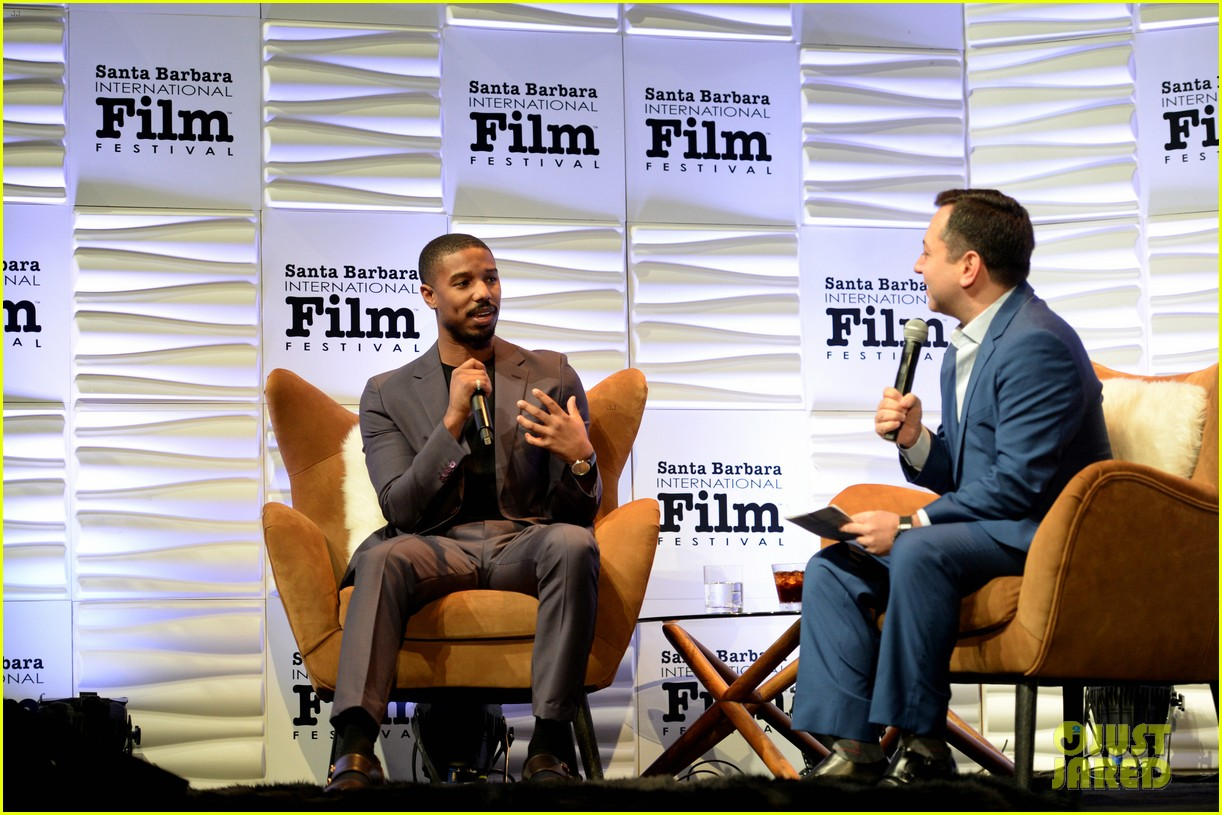 michael b jordan honored with cinema vanguard award at santa barbara film fest 024226053