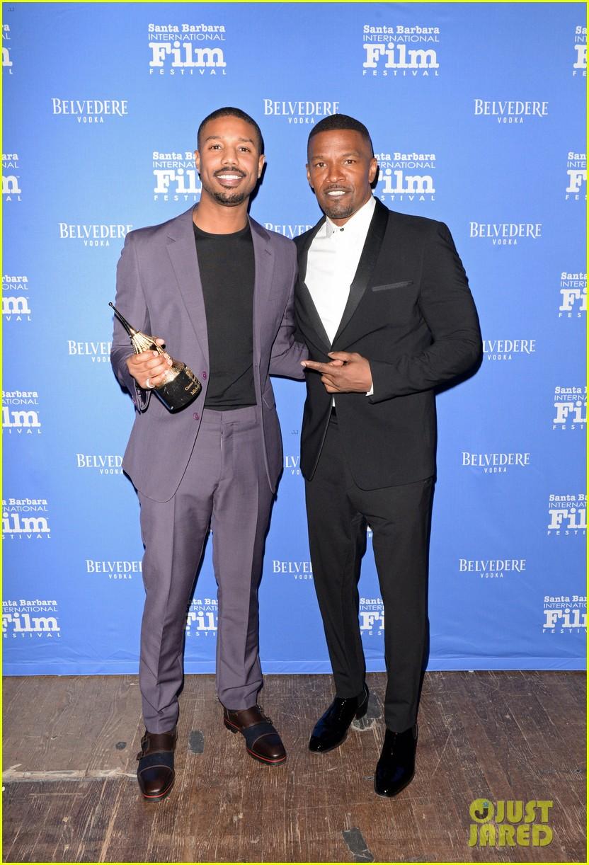 michael b jordan honored with cinema vanguard award at santa barbara film fest 044226055