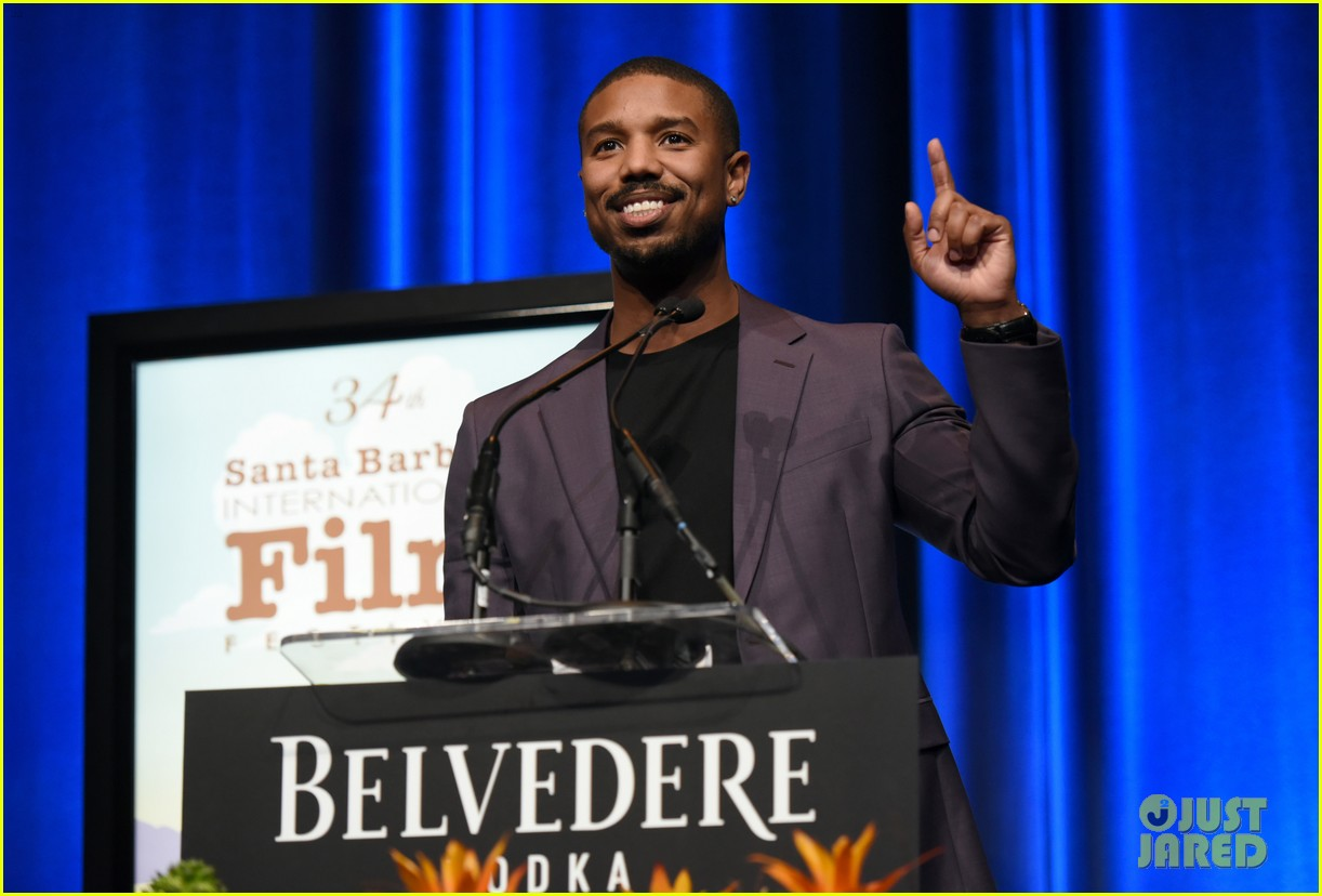 michael b jordan honored with cinema vanguard award at santa barbara film fest 054226056