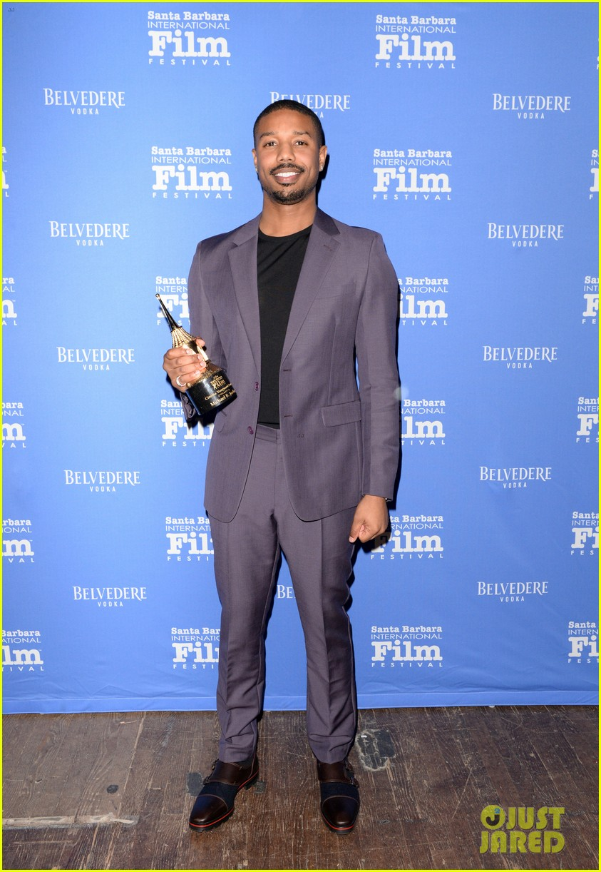 michael b jordan honored with cinema vanguard award at santa barbara film fest 064226057