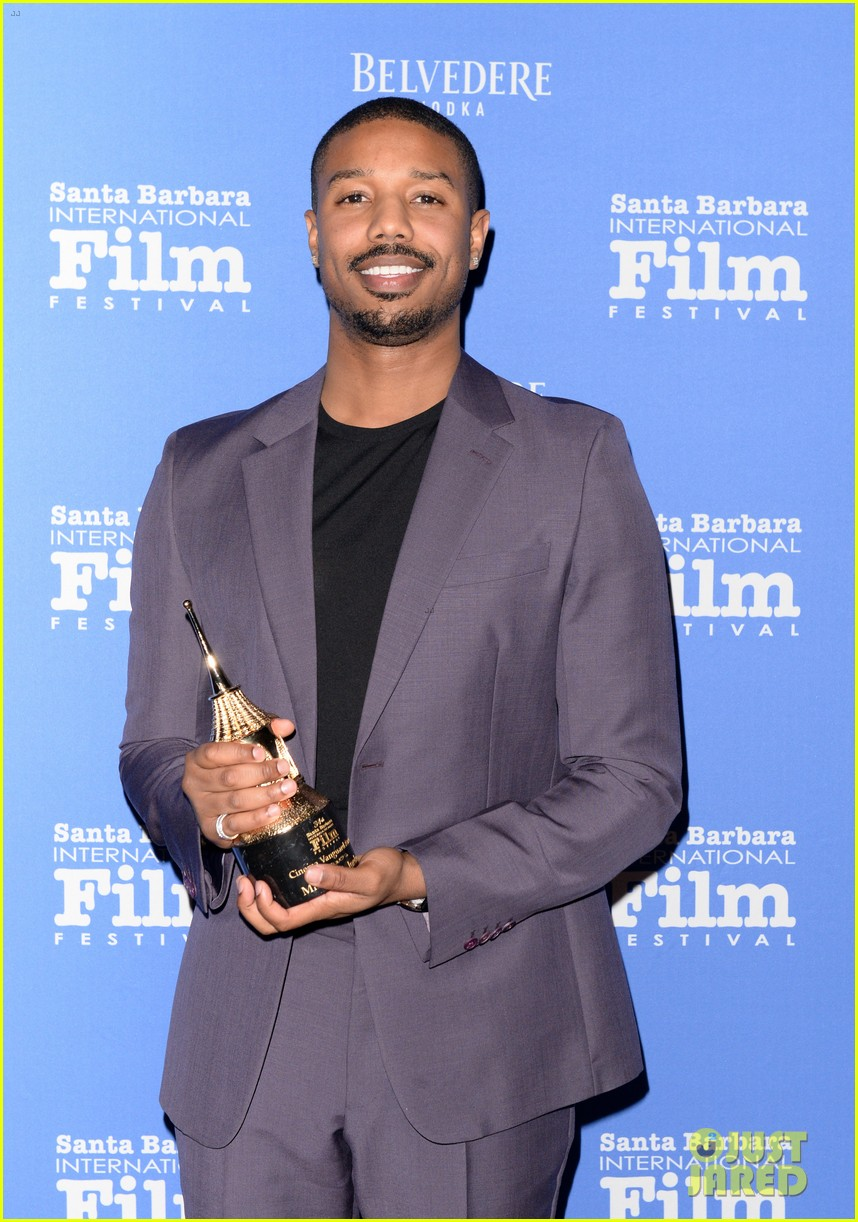 michael b jordan honored with cinema vanguard award at santa barbara film fest 074226058