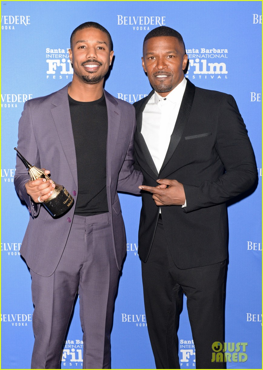 michael b jordan honored with cinema vanguard award at santa barbara film fest 094226060