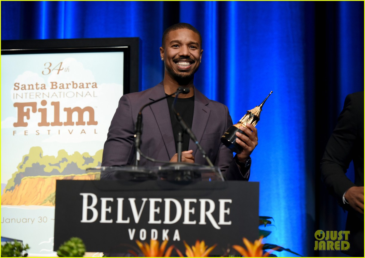 michael b jordan honored with cinema vanguard award at santa barbara film fest 134226064