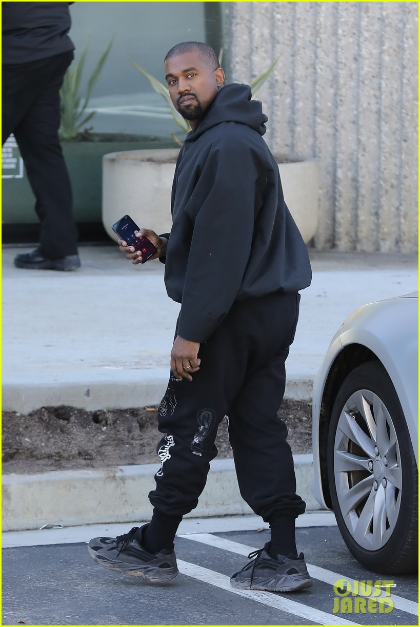 Kanye West Hits the Office Ahead of New York Fashion Week ...