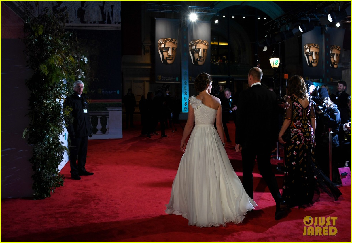 Baftas 2019: Kate Middleton Looks Stunning In One Shoulder Dress At