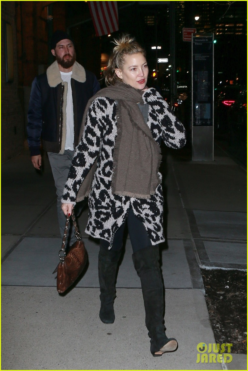 kate hudson danny date night nyc 02