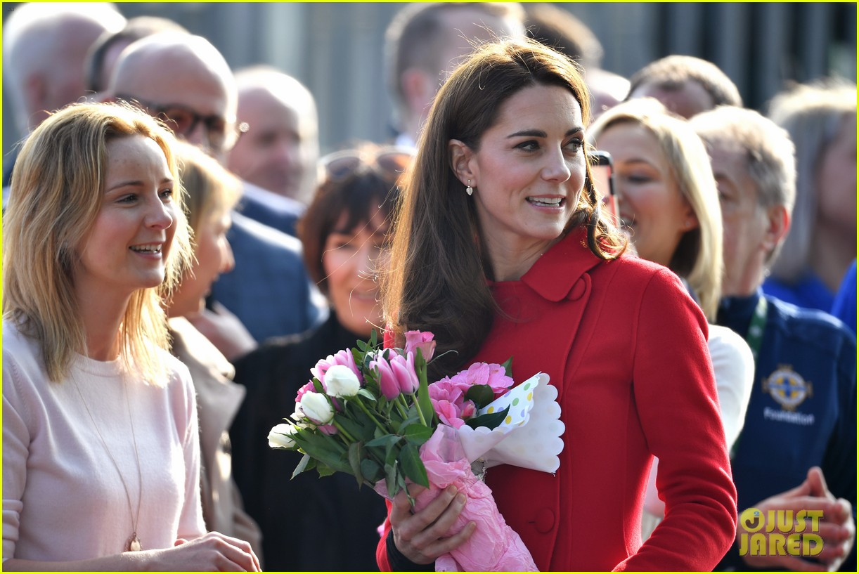 kate middleton plays soccer northern ireland visit 174248705