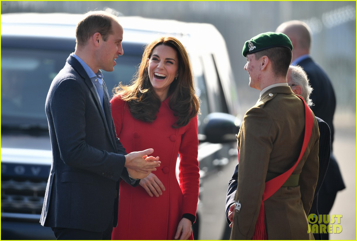 kate middleton plays soccer northern ireland visit 204248708