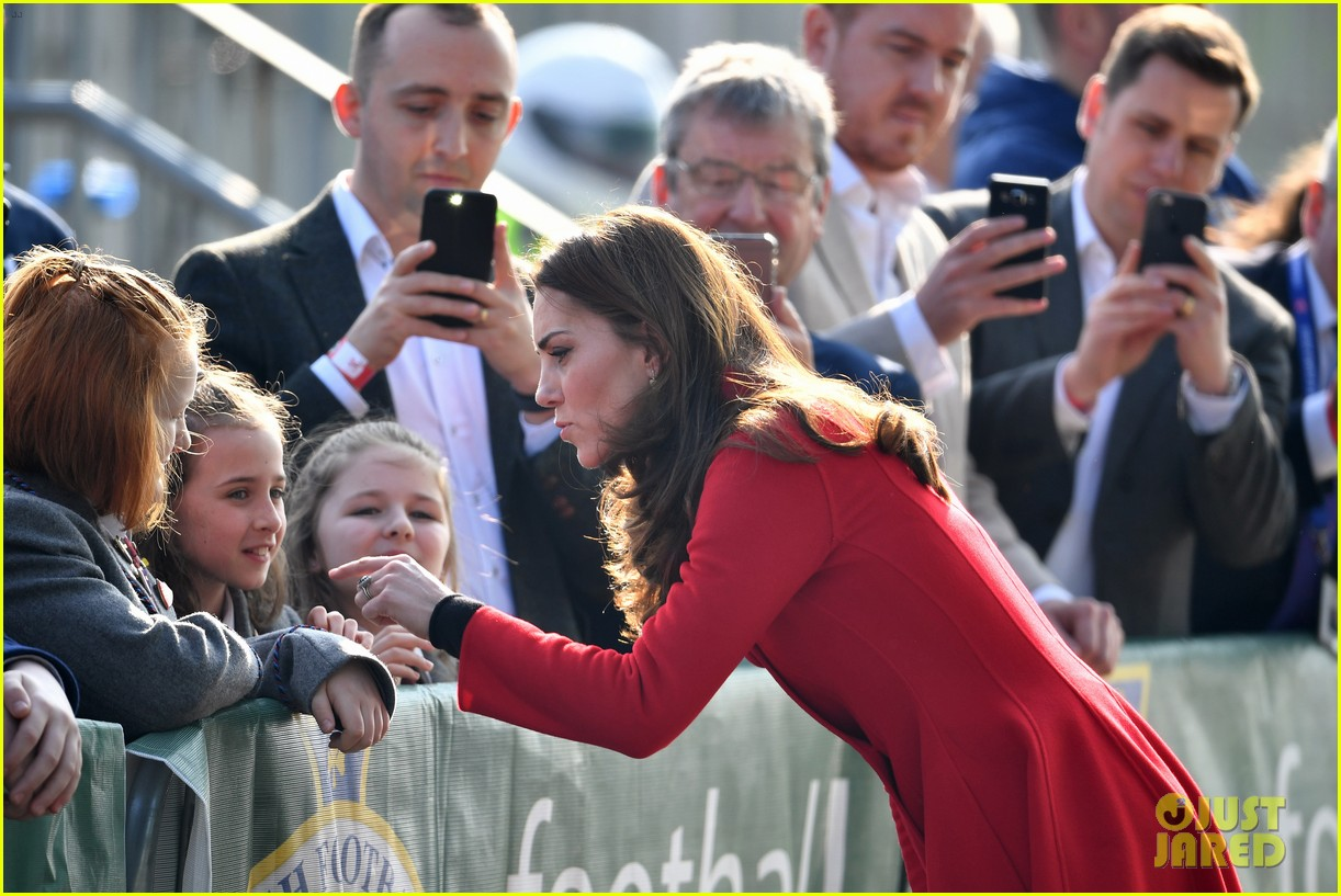 kate middleton plays soccer northern ireland visit 234248711