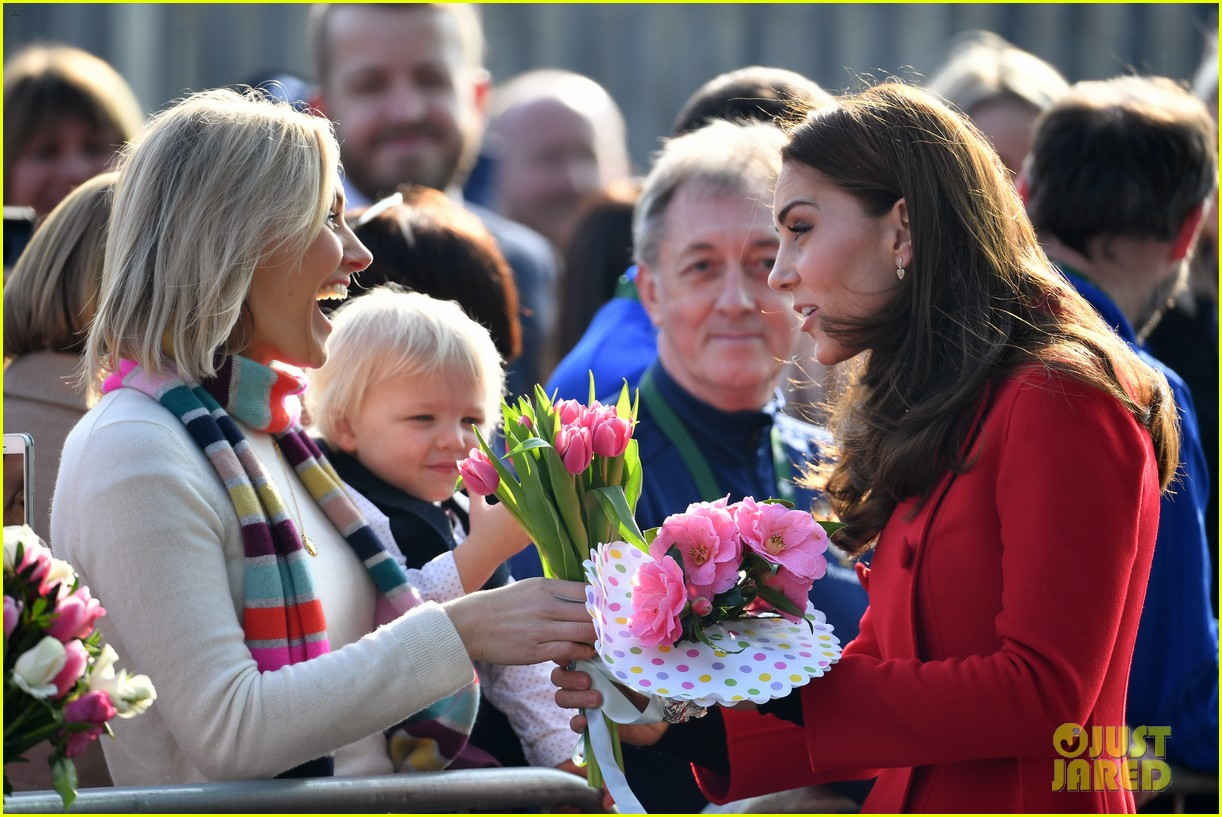 kate middleton plays soccer northern ireland visit 294248717
