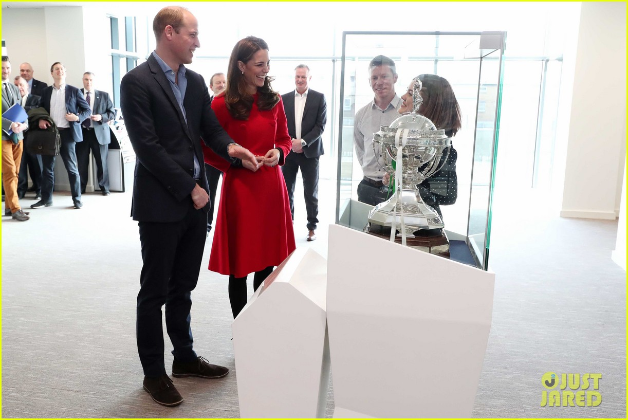 kate middleton plays soccer northern ireland visit 374248725