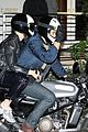 katy perry orlando bloom arrive on motorcycle for jennifer aniston birthday party 21
