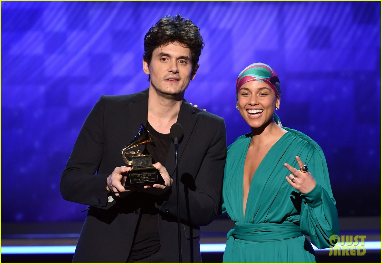 john mayer broke his 2004 grammy award shares it with alicia  05
