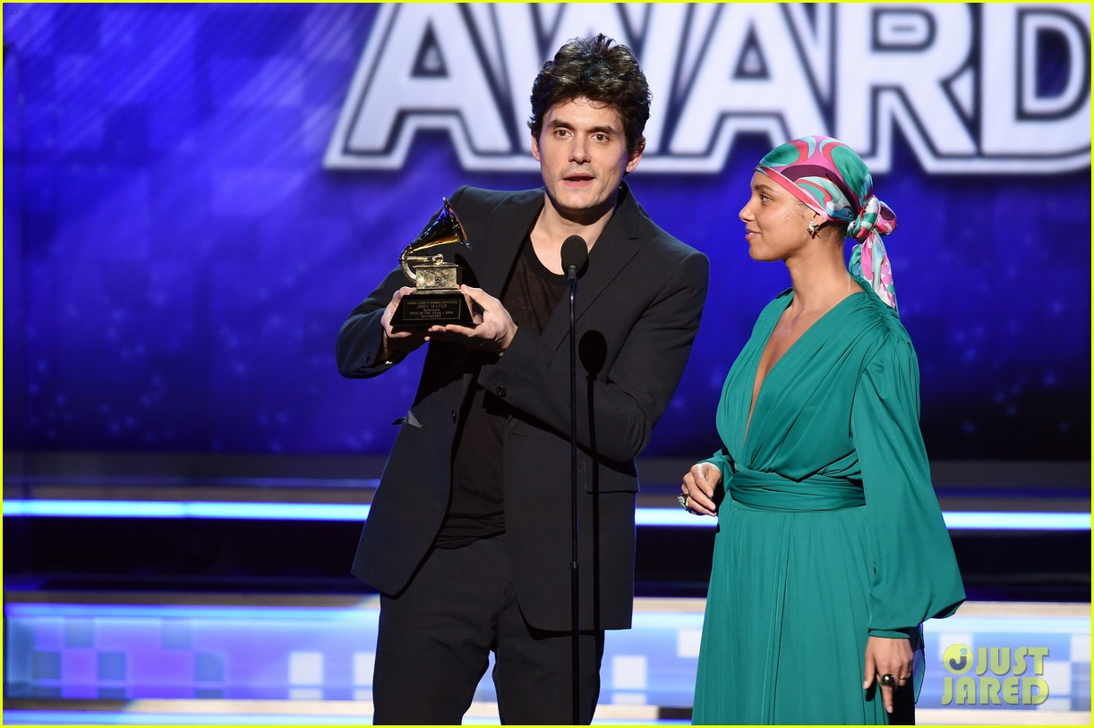 john mayer broke his 2004 grammy award shares it with alicia  06
