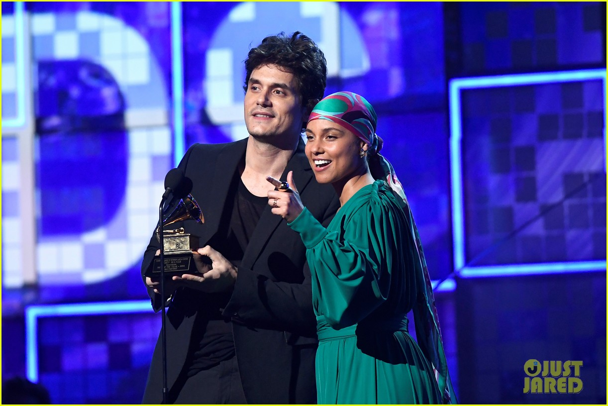 john mayer broke his 2004 grammy award shares it with alicia  10