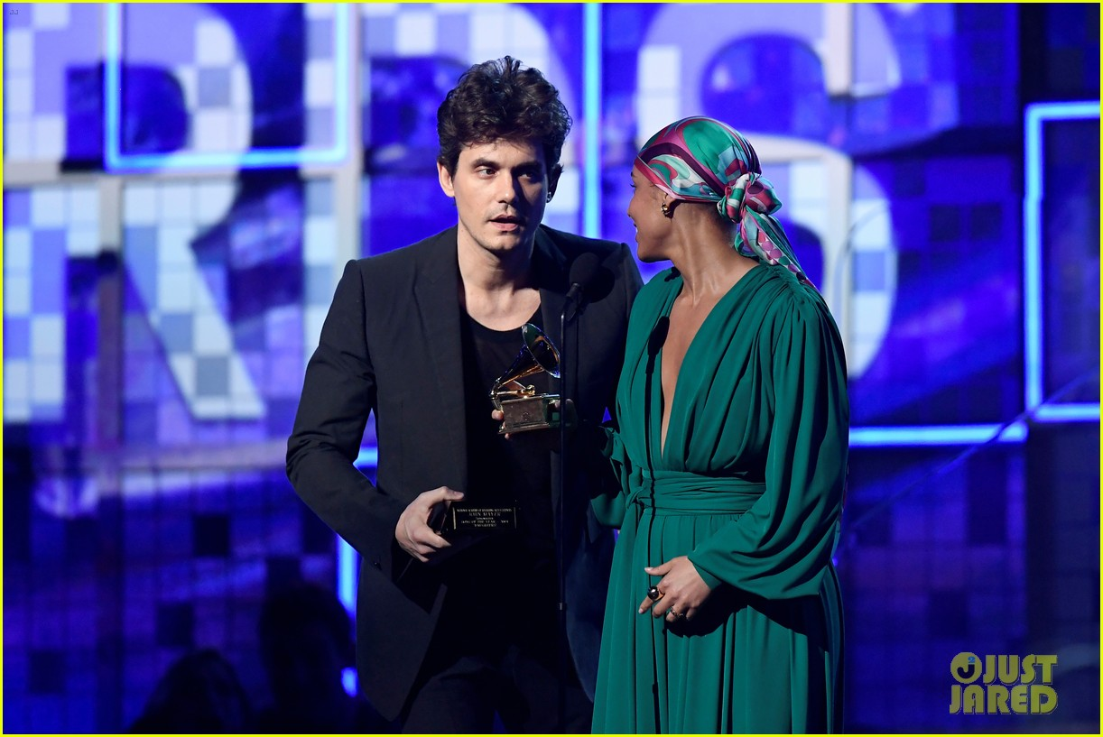 john mayer broke his 2004 grammy award shares it with alicia  12