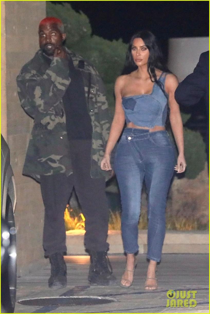 kim kardashian kanye west nobu february 2019 04