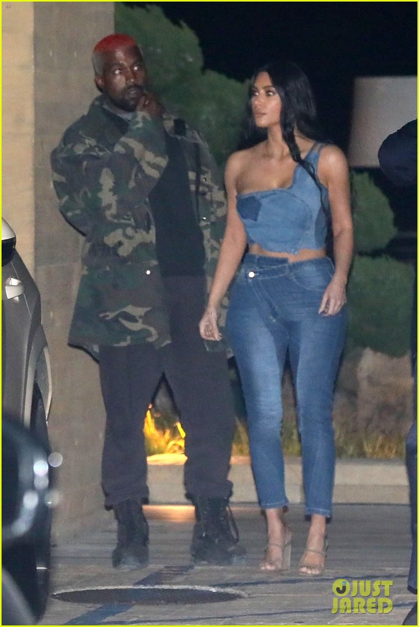 kim kardashian kanye west nobu february 2019 10